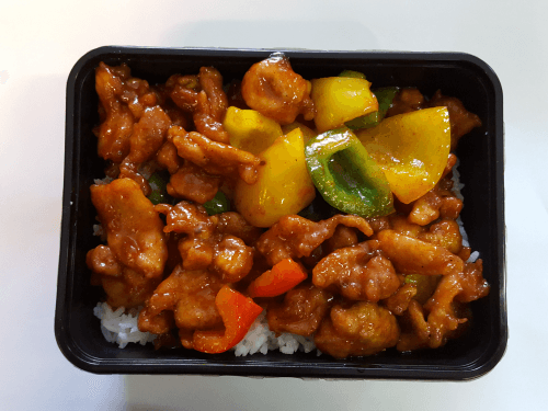 Foto Spicy Chicken Bento
